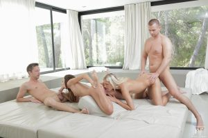 Nubile Films Dido Angel & Gina Devine in Group Session 6