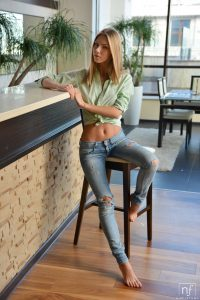 Nubile Films Ebbi in Tempted To Touch 1