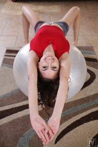 Nubile FIlms Riley Reid in Work Out Session 1