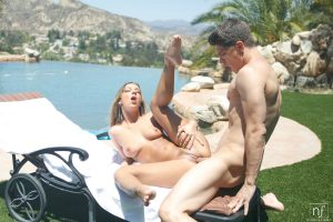 Nubile Films Jada Stevens in Poolside Pounding 12