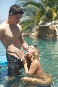 Nubile Films Jada Stevens in Poolside Pounding 4