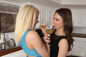 Nubile Films Anikka Albrite & Riley Reid in Blondes Love Brunettes 3
