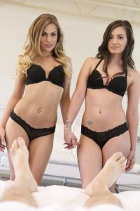 Nubile Films Gia Paige & Sydney Cole in Bedroom Buddies 1