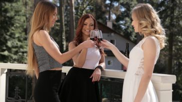 Aislin, Alexis Crystal & Morgan Rodriguez in Passionate Threesome 4