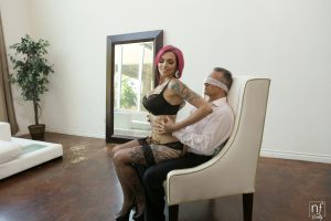NF Busty Anna Bell Peaks in Leather Submission with Marcus London 3