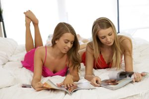 Nubile Films Harley Jameson & Jill Kassidy in Candy Kisses 2