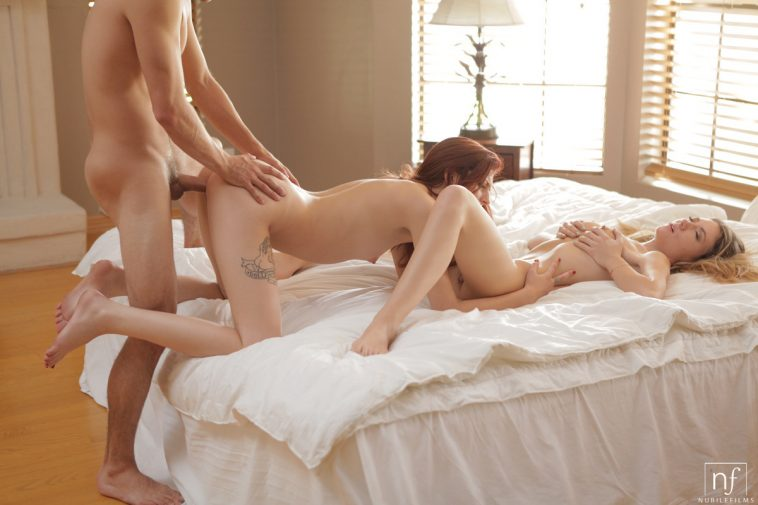 Nubile Films Alison Faye & Ashlyn Molloy in Enough To Go Around 11