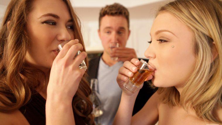 Nubile Films Dakota Skye & Samantha Hayes in After Party 18